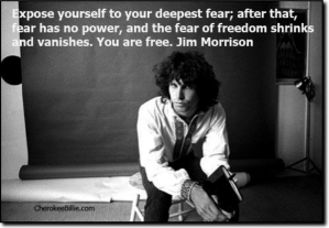 Jim Morrison - into fear