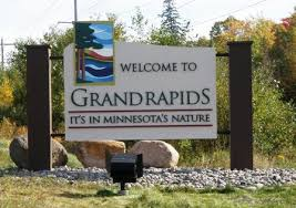 Grand Rapids welcome sign